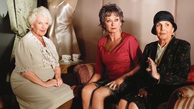 Drei alte Damen im SRF-Film «Die Herbstzeitlosen».