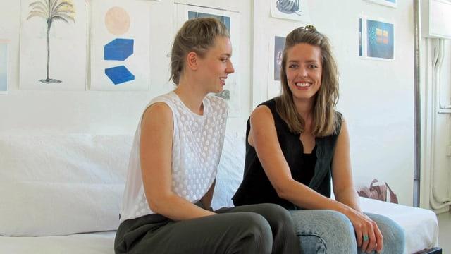 Die beiden Zürcher Künstlerinnen Arienne Birchler und Pascale Birchler