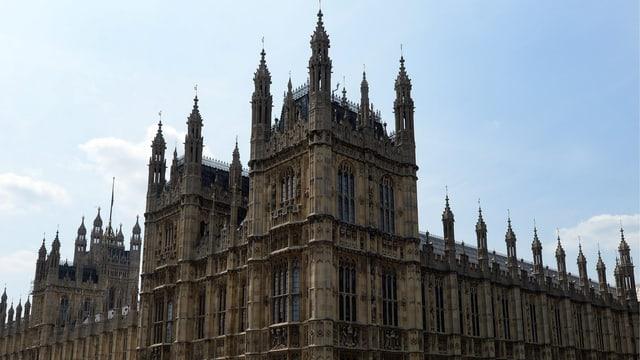 Bild des House of Parliament in London.
