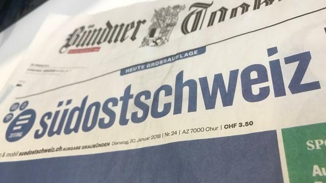 Purtret dal Bündner Tagblatt e da la Südostschweiz.