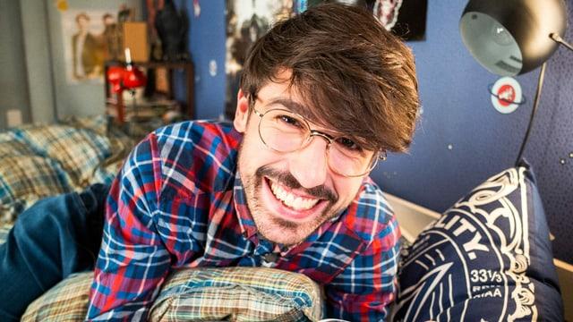 Moderator Gabriel Crucitti Porträt
