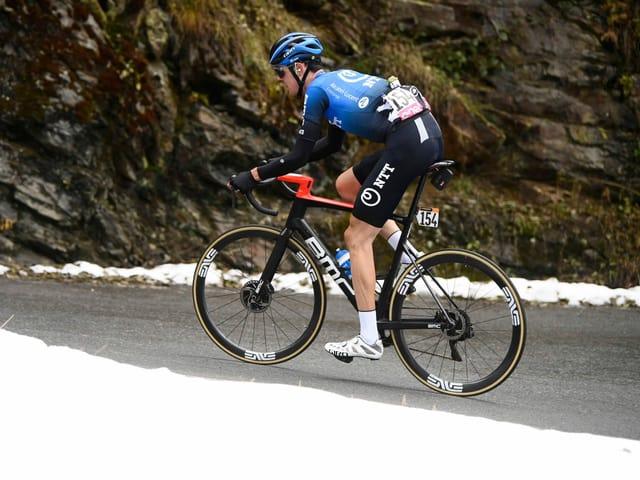 Das ehemalige NTT Pro Cycling Team.