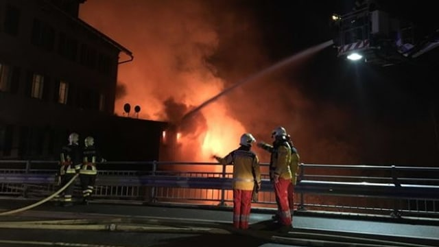 Grossbrand in Thusis