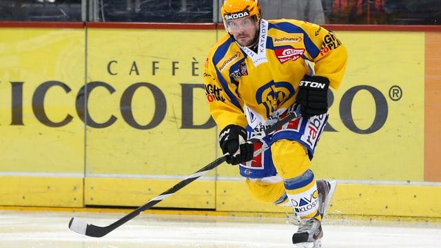 Ab nächster Saison geht Peter Guggisberg im Dress der Kloten Flyers auf Tore-Jagd.