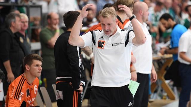Lars Walther wurde als Trainer der Kadetten Schaffhausen entlassen.