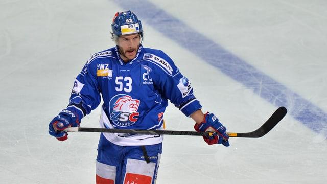 Morris Trachsler ist für das entscheidene Spiel gegen Genf gesperrt.