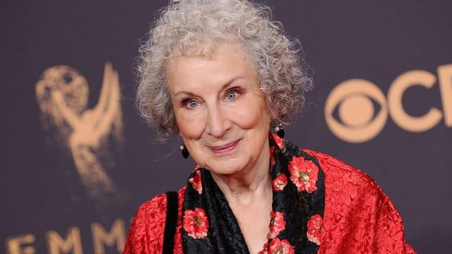 Margaret Atwood an den Emmys.