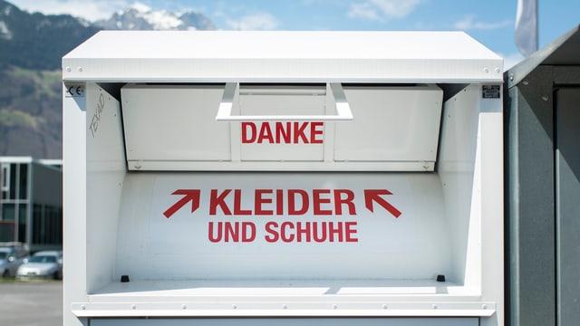 Ein Texaid-Container