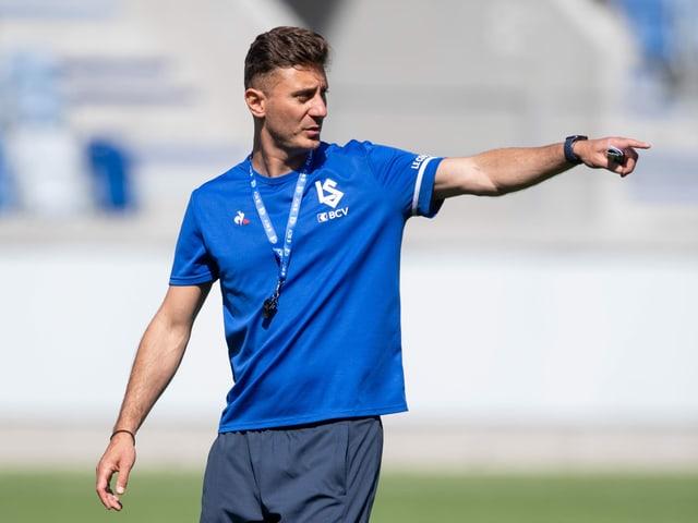 Lausannes neuer Trainer Ilija Borenovic.