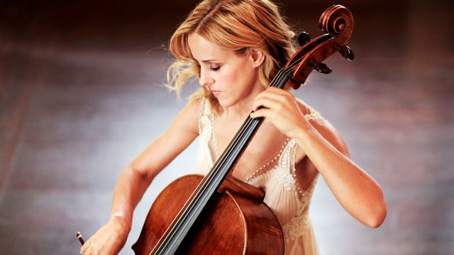 Gabetta mit Cello