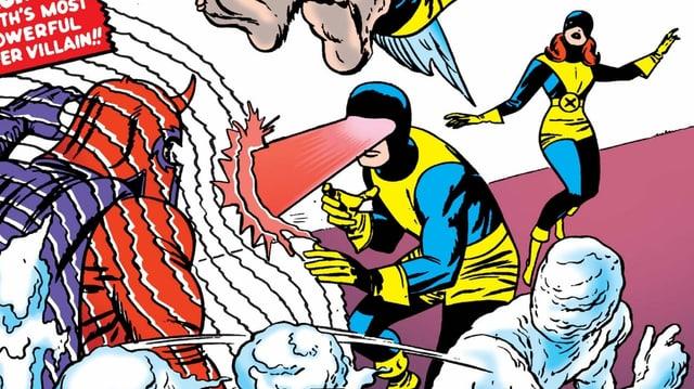 Cover der ersten X-Men Ausgabe