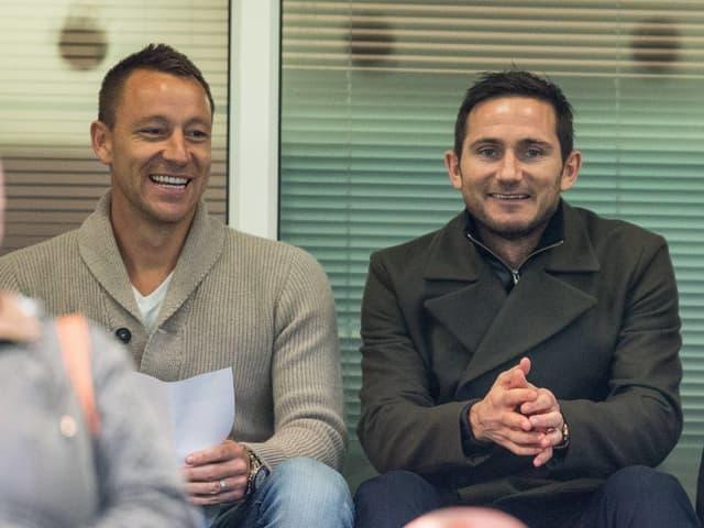 John Terry und Frank Lampard.