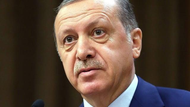Purtret da Recep Tayyip Erdogan