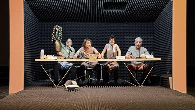 Das Schweigen der Schweiz, Szene Theater SG