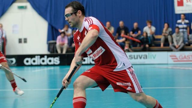 Captain Matthias Hofbauer will mit der Nati an der WM gross auftrumpfen.