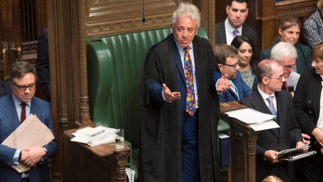Bercow im britischen Unterhaus