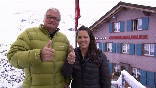 Video «Berghütten Spezial – Tag 4 – Grindelwaldblick, Kleine Scheidegg» abspielen