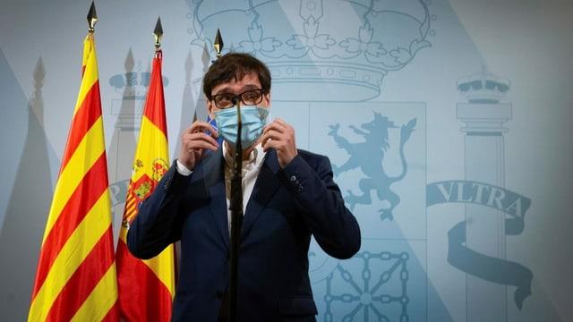 Spaniens Gesundheitsminister Salvador Illa