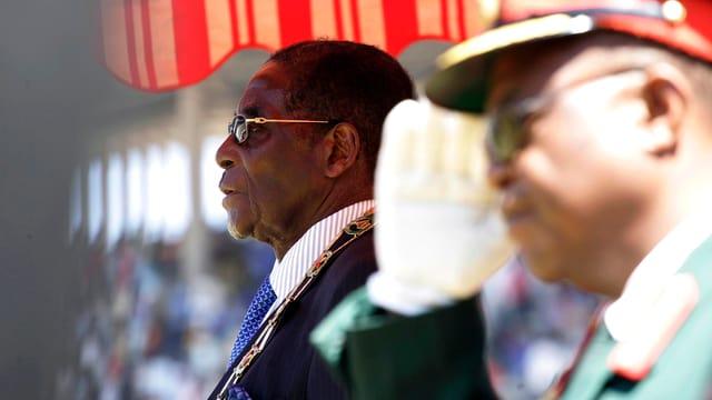 Simbabwes Langzeitherrscher Robert Mugabe