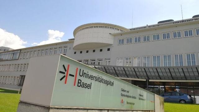 Klinikum 1 des Basler Universitätsspitals.