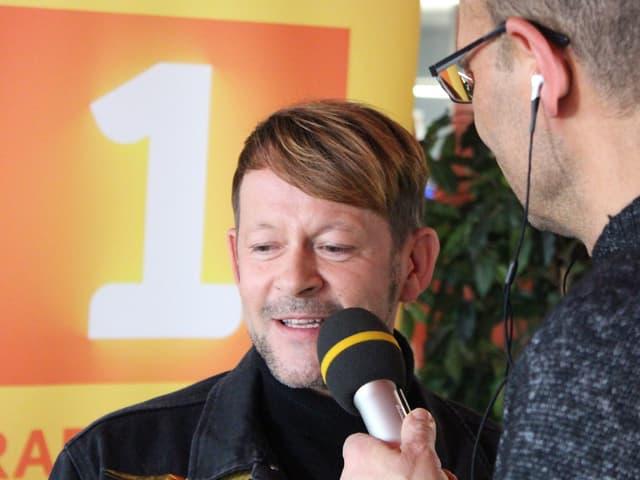 Michael von der Heide im Gespräch mit Mike La Marr.