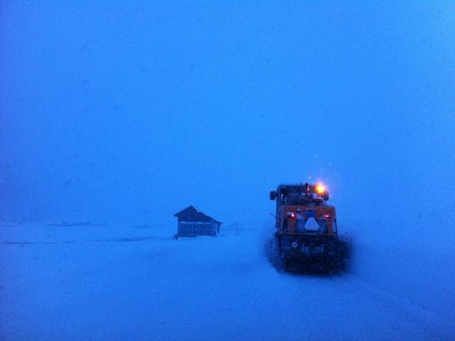 Schneeräumungs-Fahrzeug