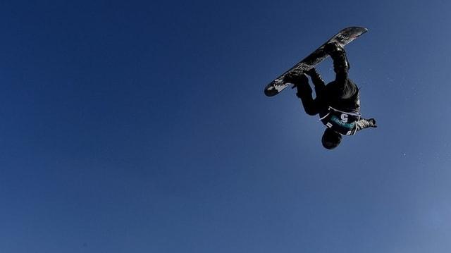 Shaun White in Aktion