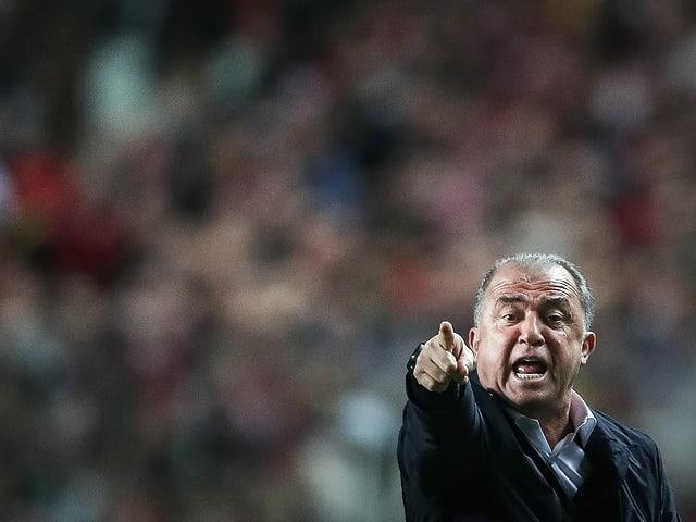 Der Trainer und «Imperator» von Galatasaray: Fatih Terim.
