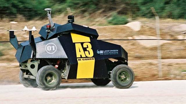 Guardium, Israles Überwachungs-Fahrzeug.