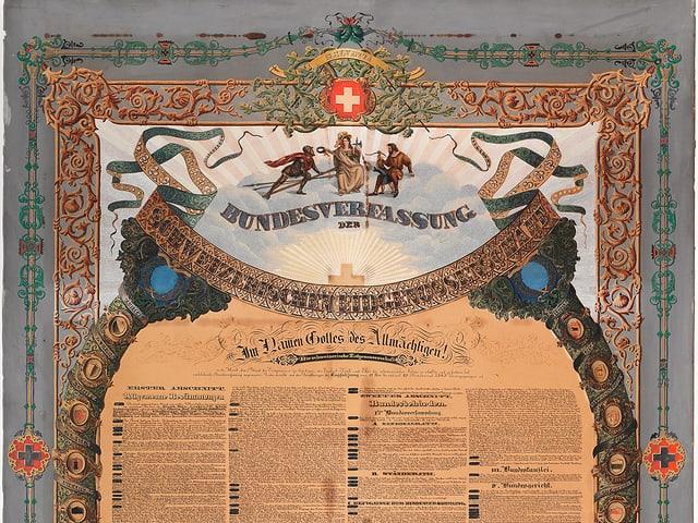 Bundesverfassung von 1848, Laurenz Lüthi, Solothurn.