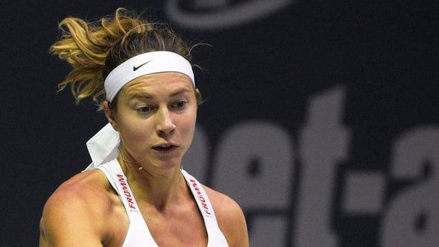 la giugadra da tennis Stefanie Vögele