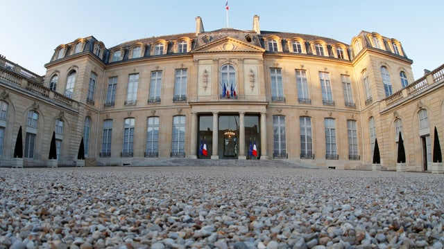Elysée-Palast in Paris
