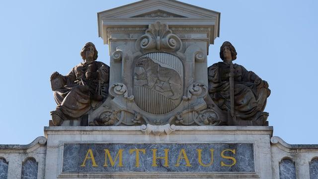 Das Amthaus in Bern, Sitz des Regionalgerichts und oft Schauplatz grosser Gerichtsfälle.