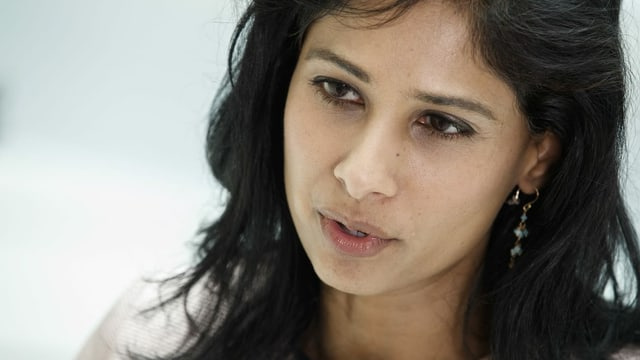 IWF-Chefökonomin Gita Gopinath