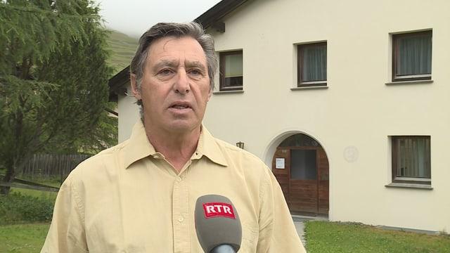 Gian Duri Ratti, il president da la raspada evangelica d'Engiadin'Ota.