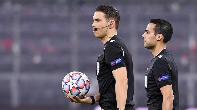 Sandro Schärer und Stéphane De Almeida
