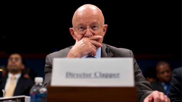 James Clapper, Direktor der amerikanischen Geheimdienste