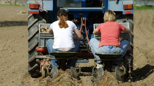 Landwirtin – Bäuerin. Das sind die Unterschiede