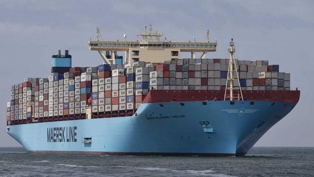 Die «Maersk McKinney Moeller»