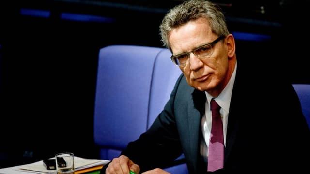 Der deutsche Verteidigungsminister Thomas de Maizière