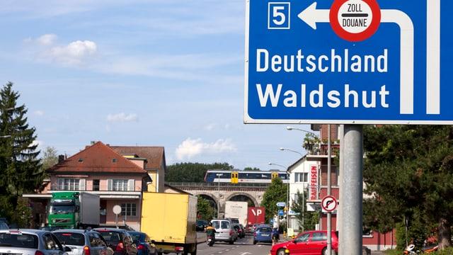 Strassenschild in Koblenz