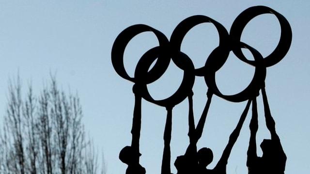 Ils gieus olimpics d'enviern 2026 (maletg simbolic).