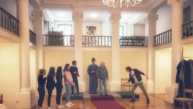 Acturs durant in exercizi