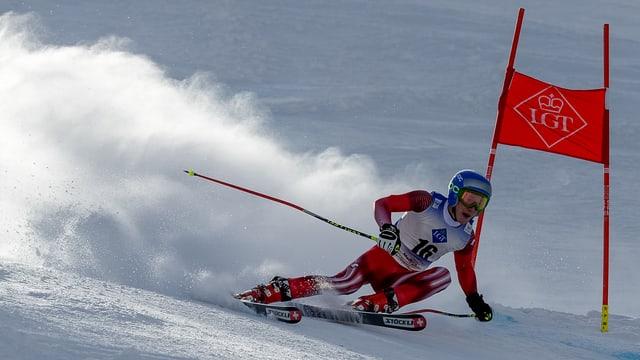 Skifahrer.