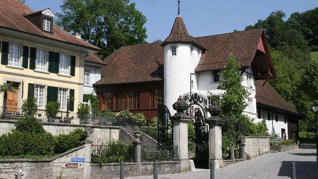 Museum Burghalde, im Sommer
