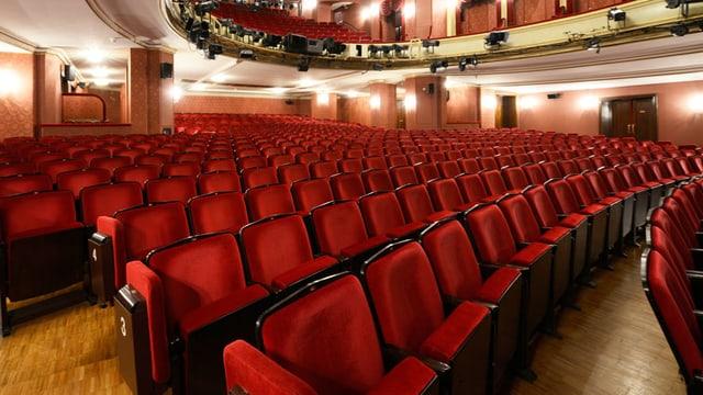 Theatersaal des Zürcher Schauspielhauses