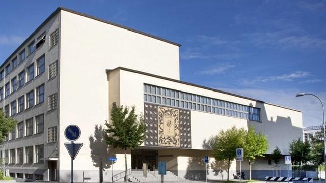 Das Gebäude des Naturhistorischen Museums.
