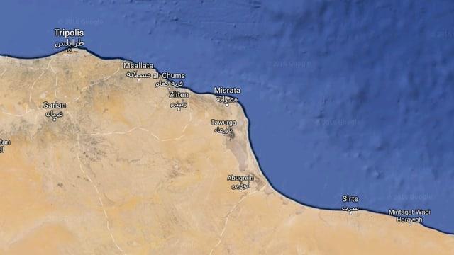 Carta da la Libia