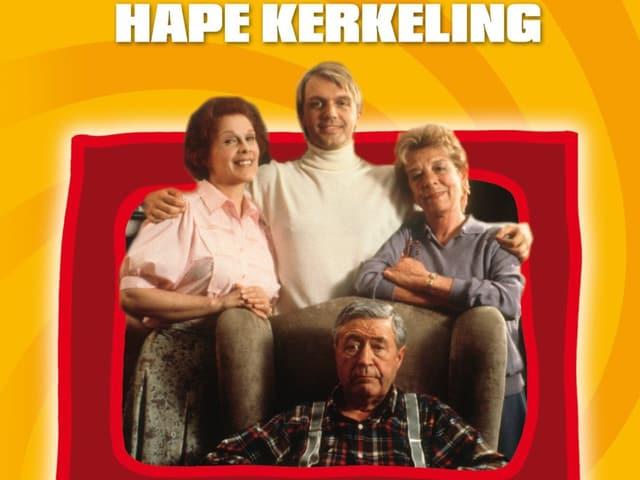 Cover der DVD «Kein Pardon», dem Kinofilmdebüt von Hape Kerkeling.
