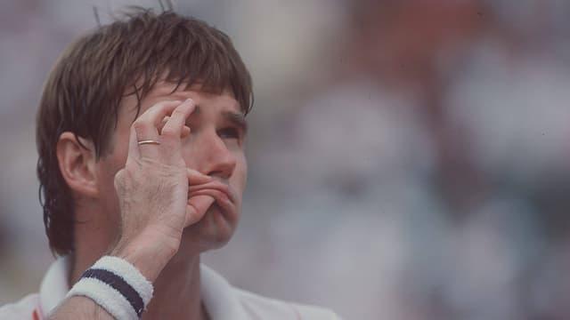 Der Amerikaner beim Paris-Turnier 1985.
